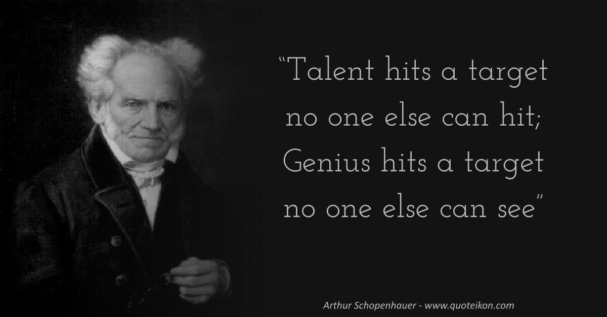 Arthur Schopenhauer image quote