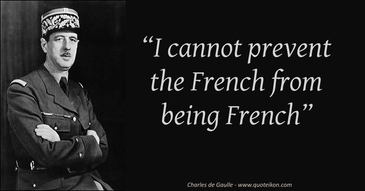 Charles De Gaulle image quote