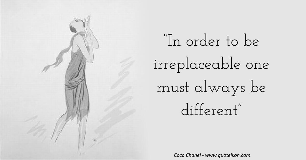 Coco Chanel image quote