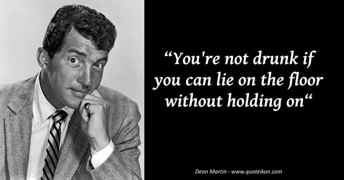Dean Martin image quote