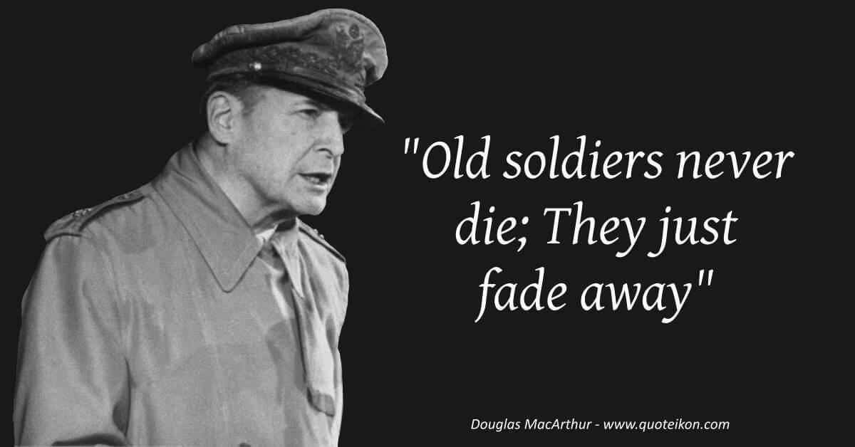 Douglas MacArthur image quote