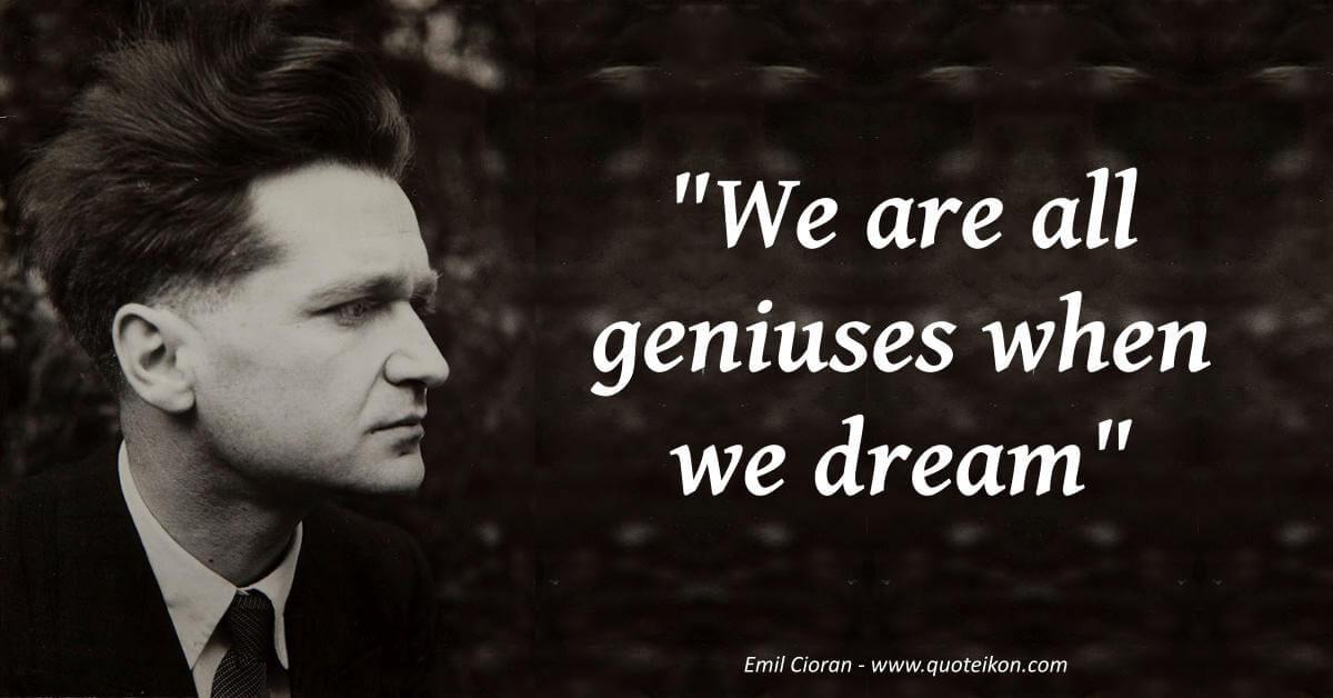 Emil Cioran image quote