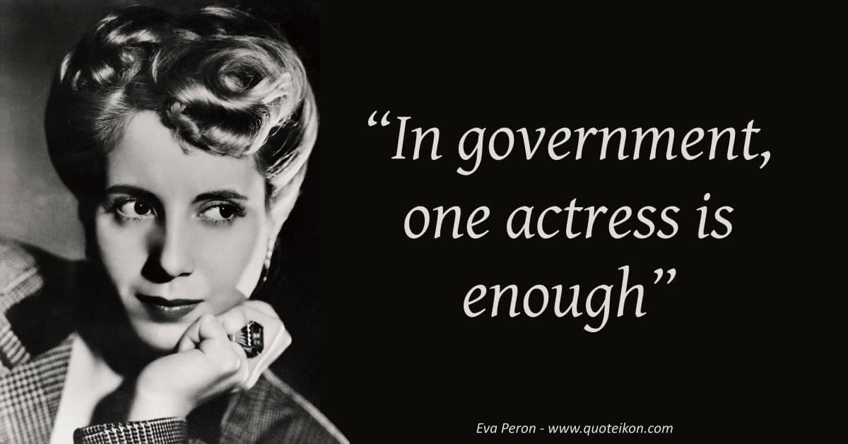 Eva Perón image quote