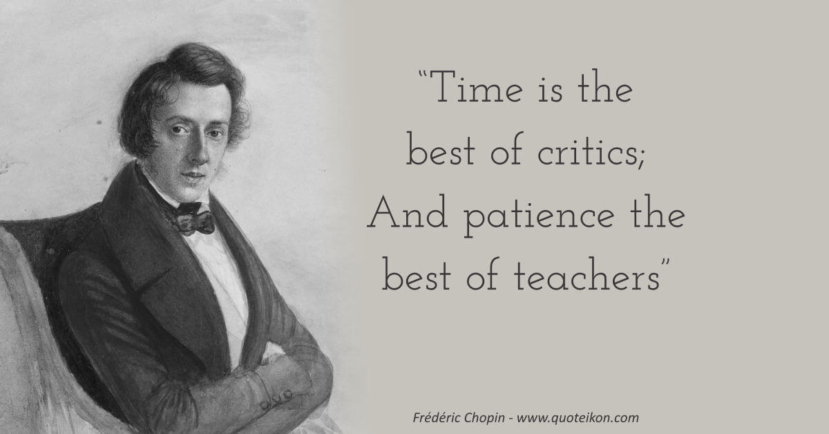 Frédéric Chopin image quote