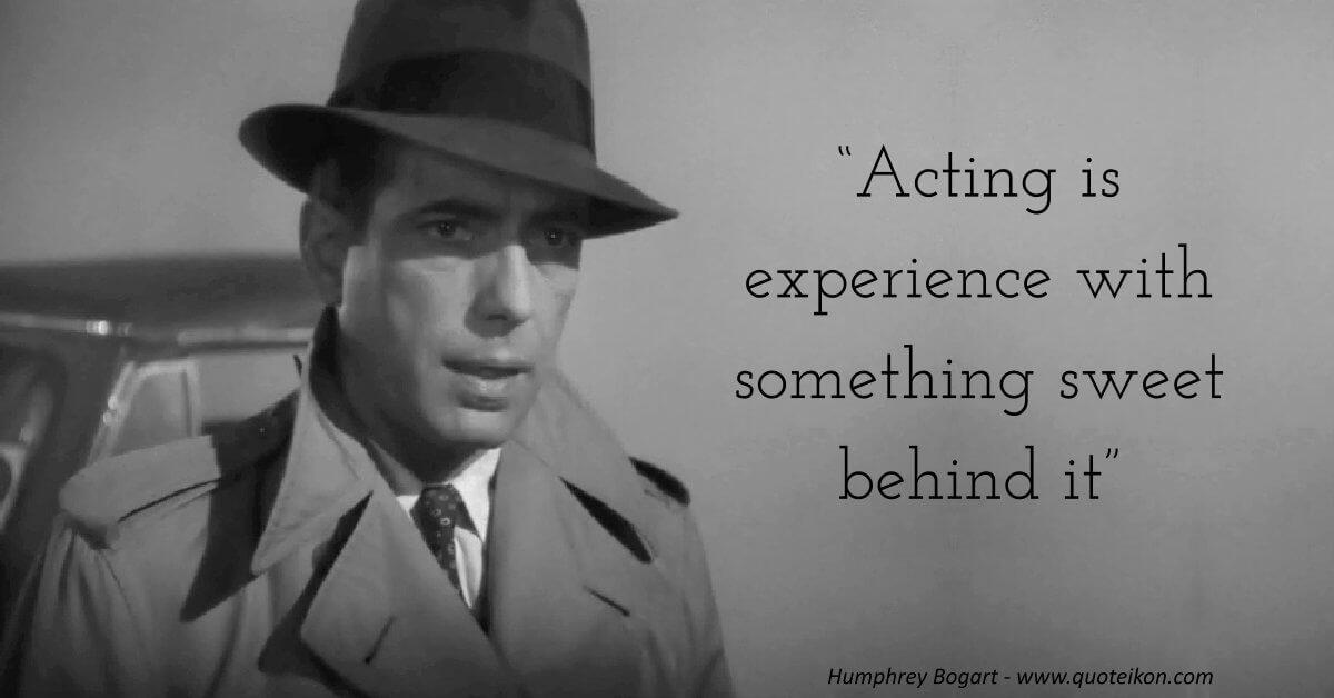 Humphrey Bogart image quote