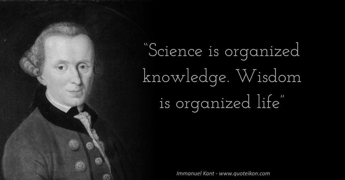 Immanuel Kant  image quote