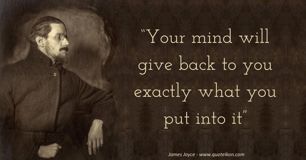 James Joyce image quote