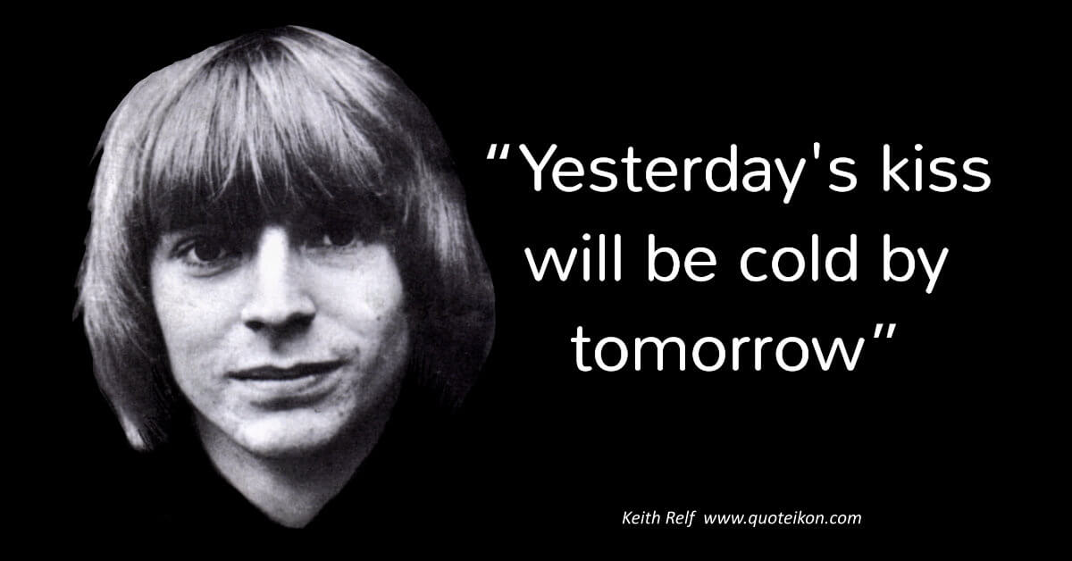 Keith Relf image quote