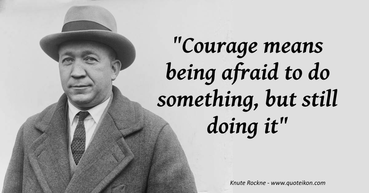 Knute Rockne image quote