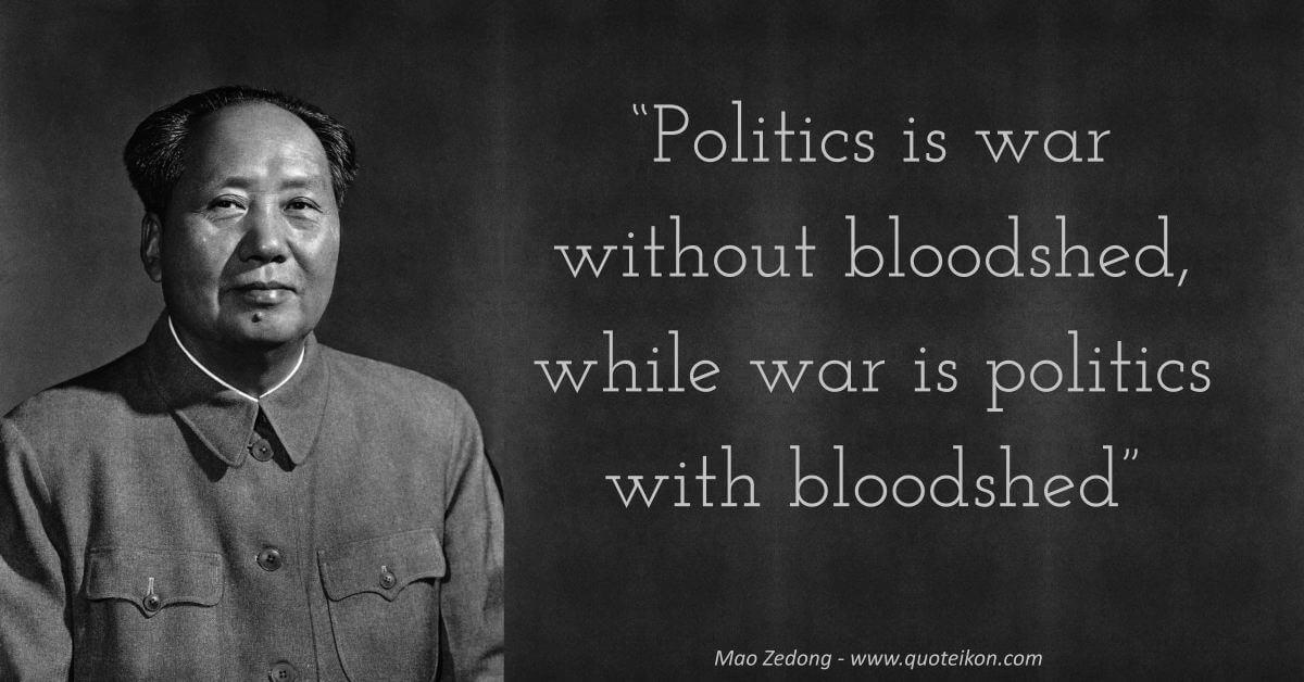 Mao Zedong image quote