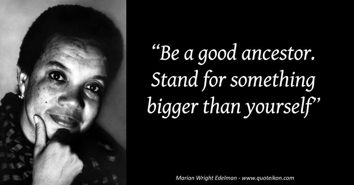 Marian Wright Edelman image quote