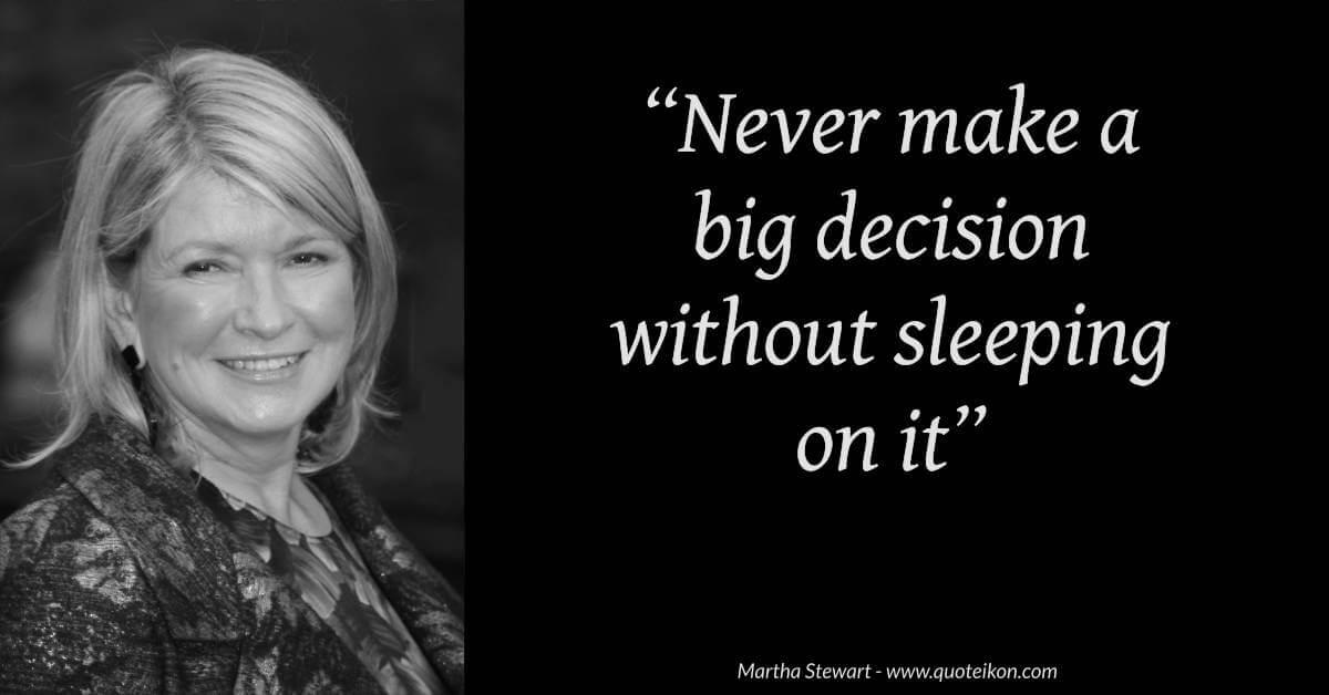 Martha Stewart image quote