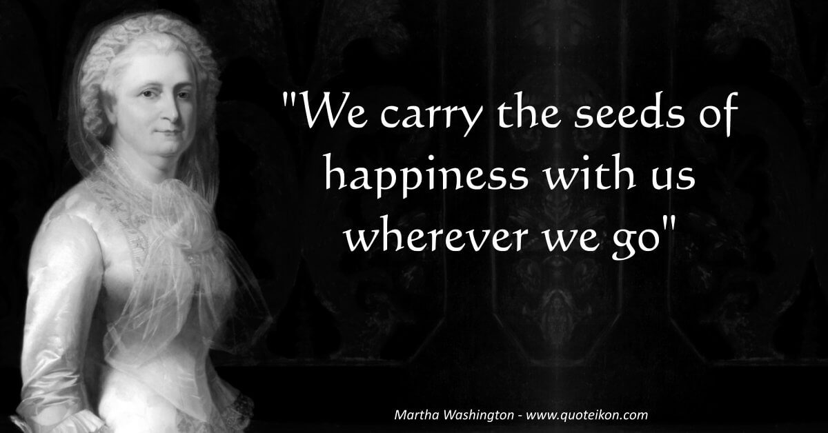 Martha Washington image quote
