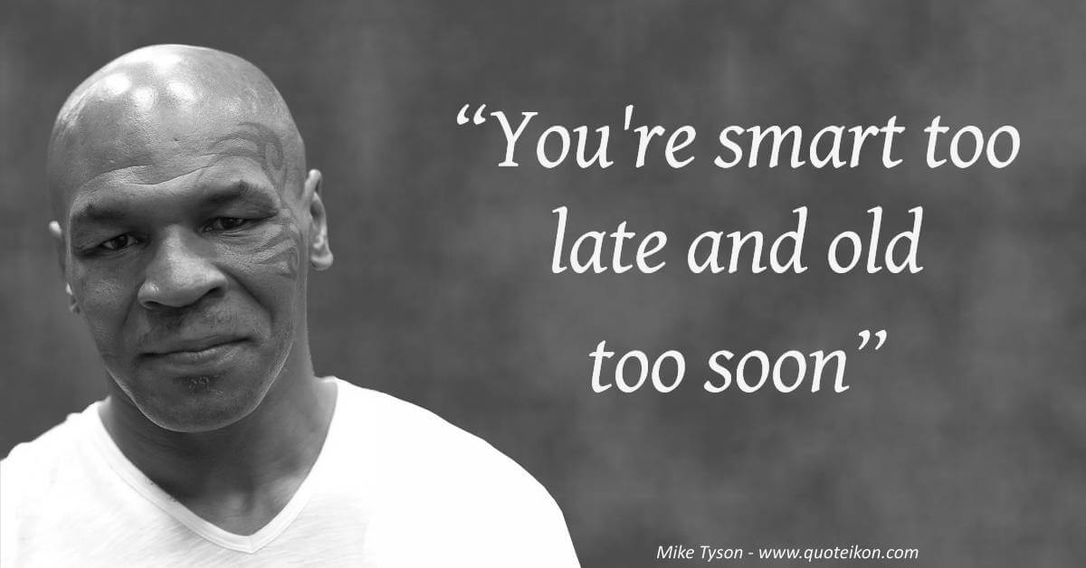 Mike Tyson image quote
