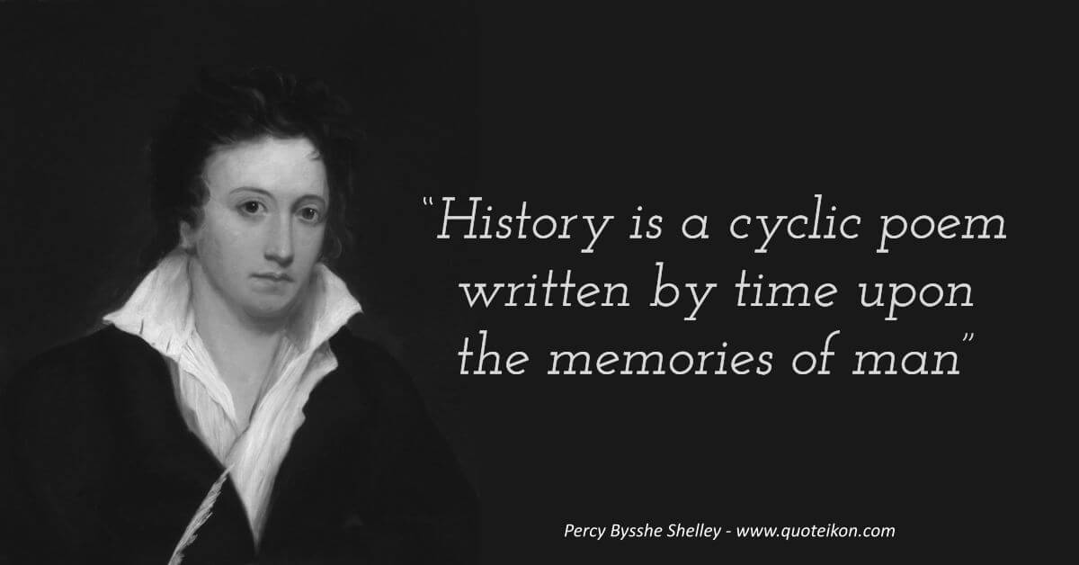 Percy Bysshe Shelley quote