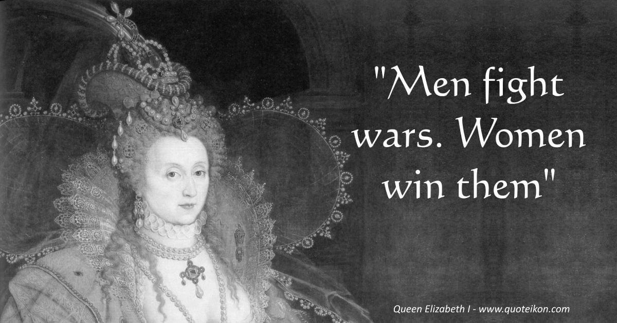 Queen Elizabeth I image quote