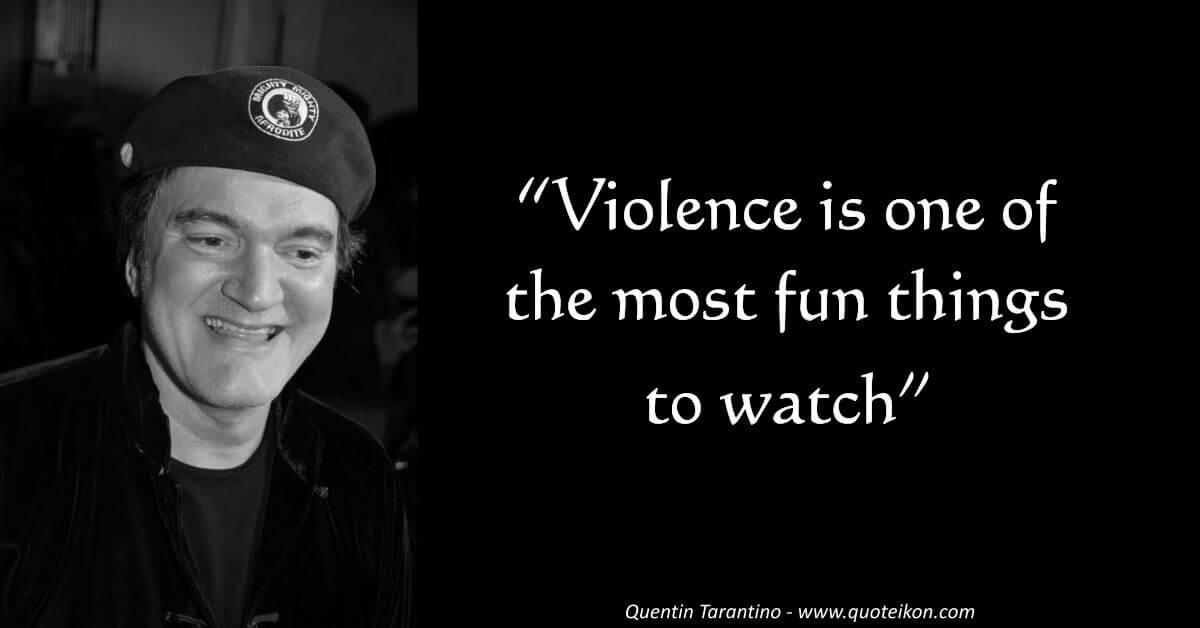 Quentin Tarantino image quote