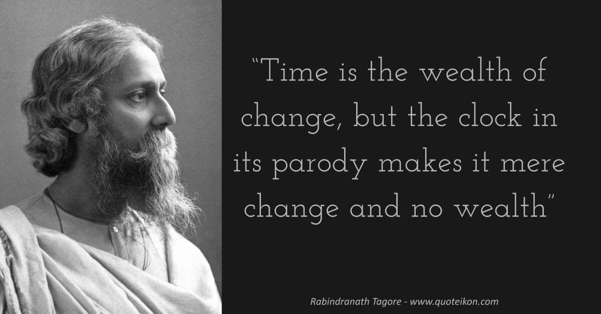 Rabindranath Tagore image quote