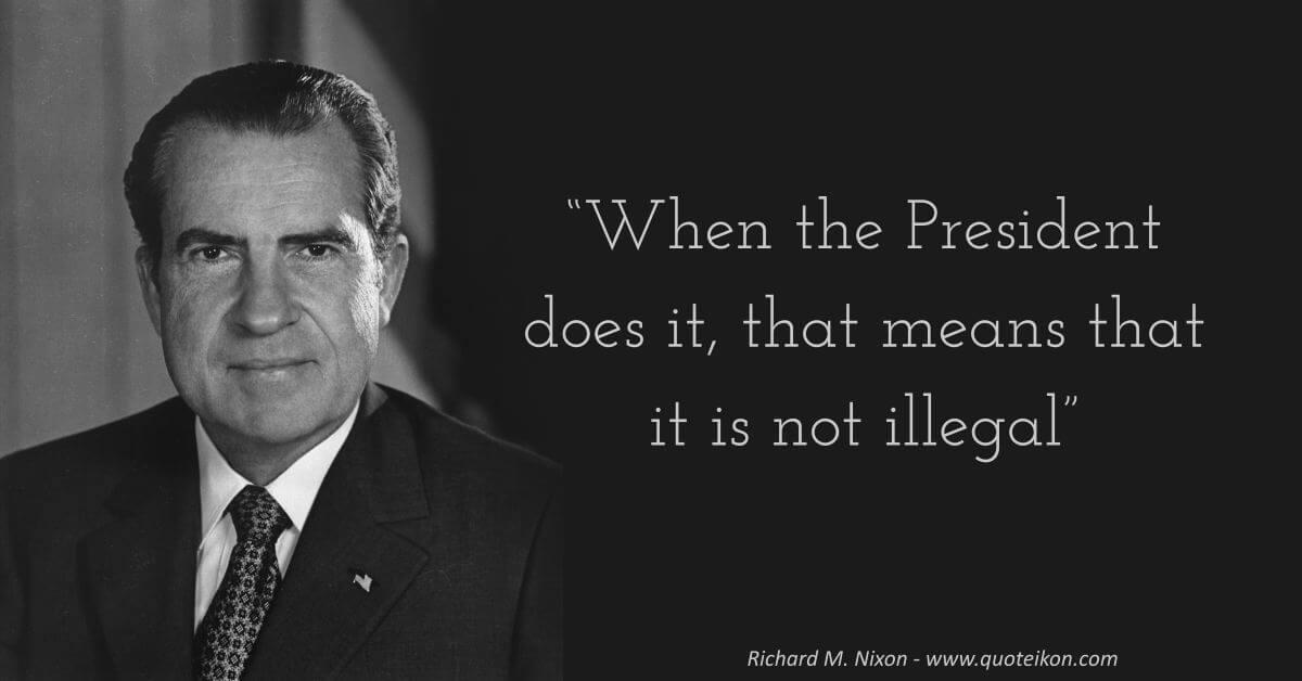 Richard Nixon image quote