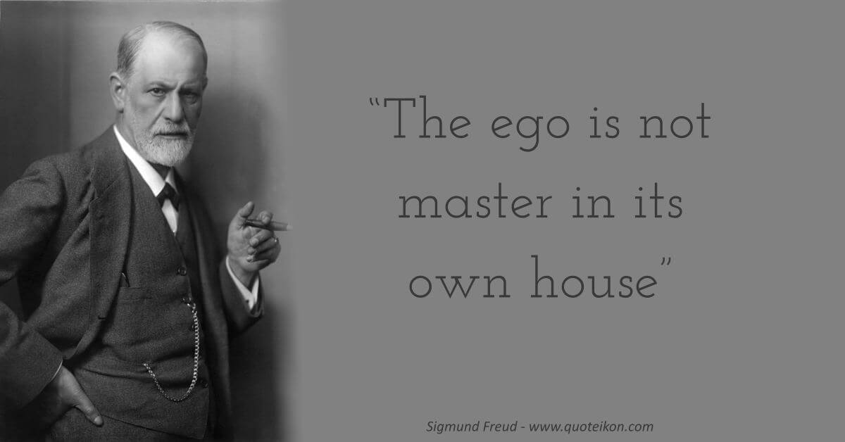 Sigmund Freud  image quote