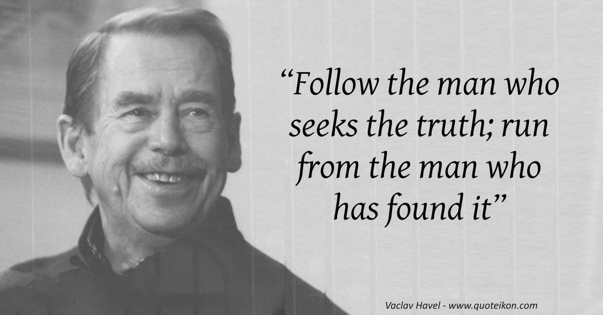 Vaclav Havel image quote