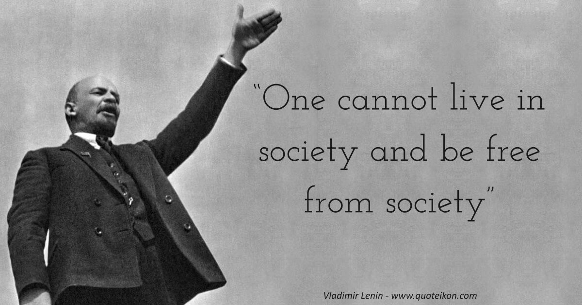 Vladimir Lenin image quote