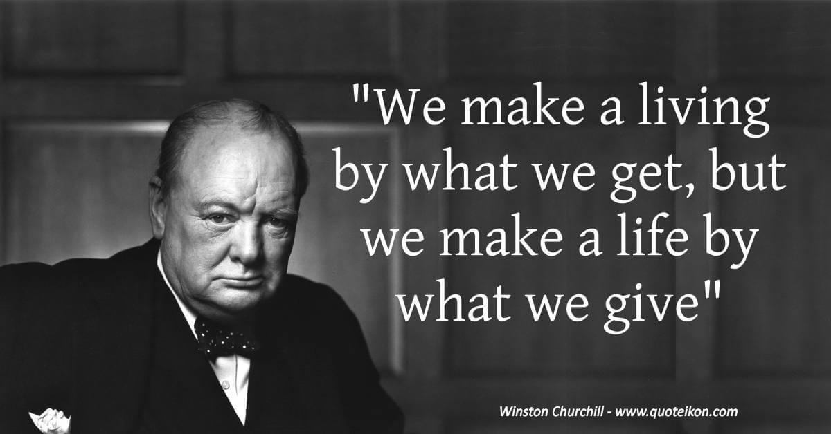 Winston Churchill image quote