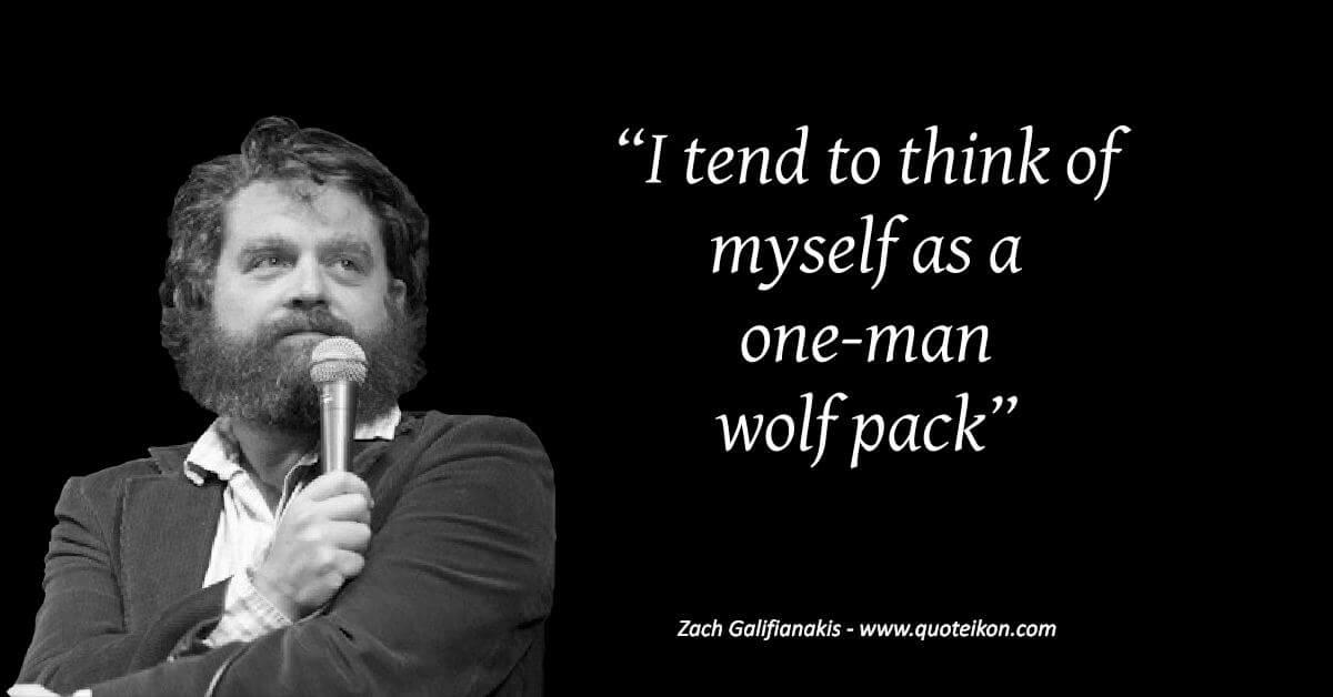 Zach Galifianakis image quote