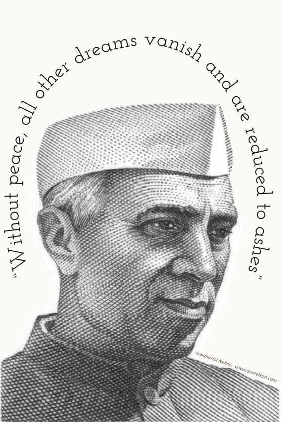 Jawaharlal Nehru pin