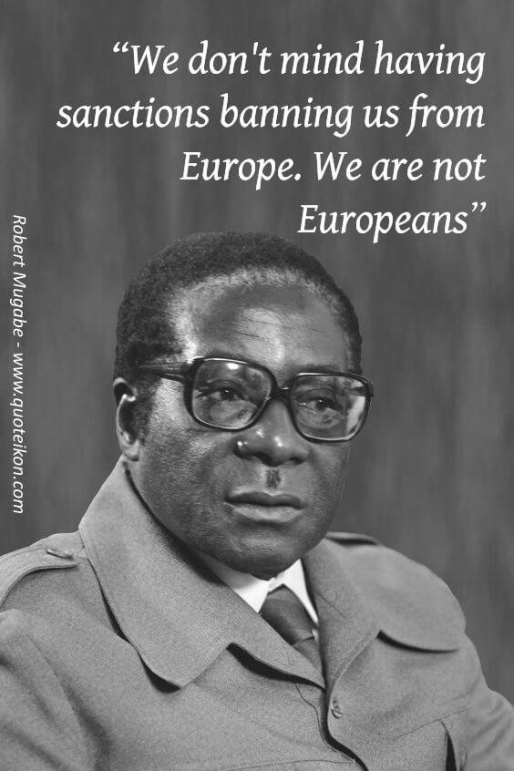 Robert Mugabe pin