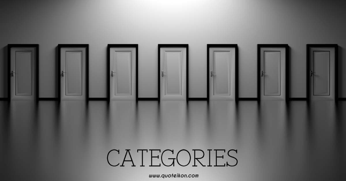 Quote Categories