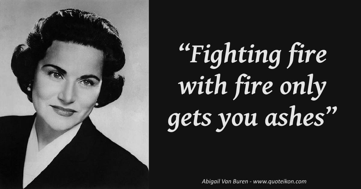 Abigail Van Buren image quote