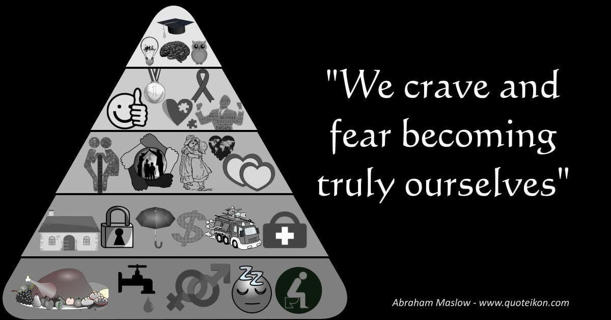 Abraham Maslow image quote