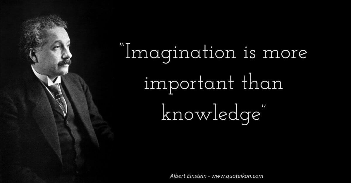 Albert Einstein image quote