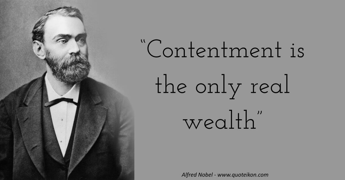 Alfred Nobel image quote