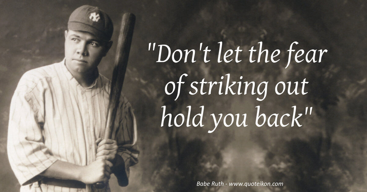 Babe Ruth image quote
