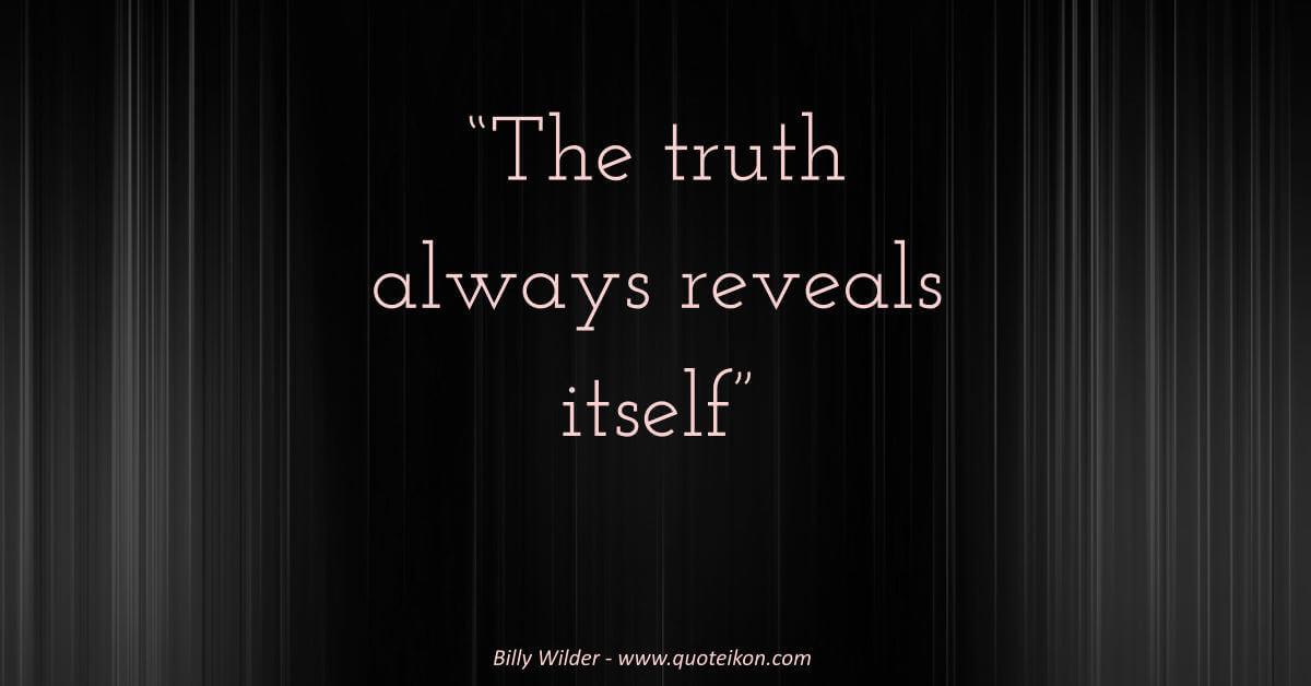 Billy Wilder Quote