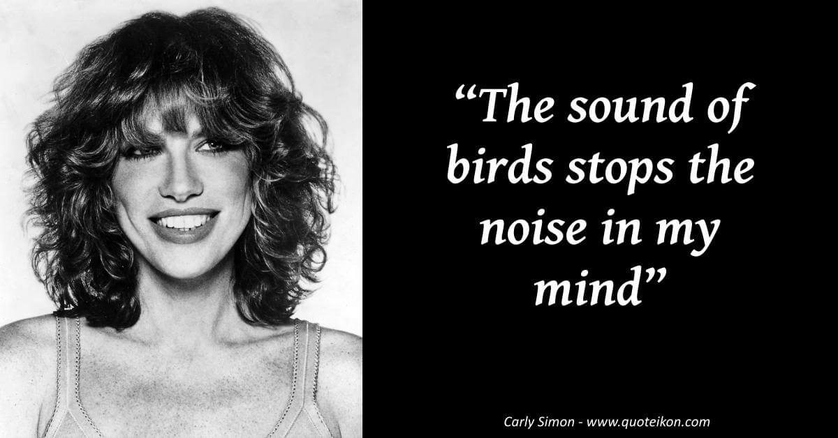 Carly Simon image quote
