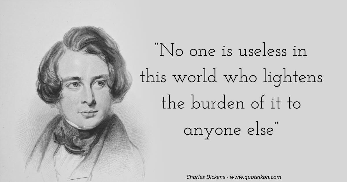 Charles Dickens image quote