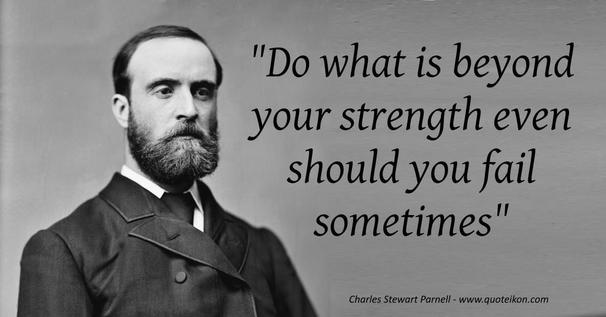 Charles Stewart Parnell image quote