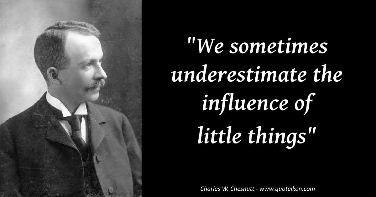 Charles W. Chesnutt image quote