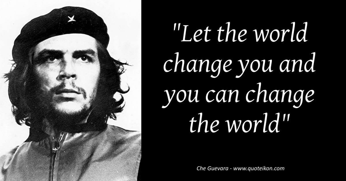 Che Guevara image quote