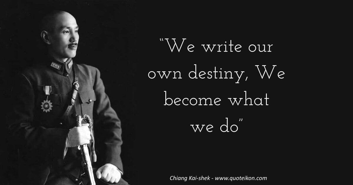 Chiang Kai-shek image quote