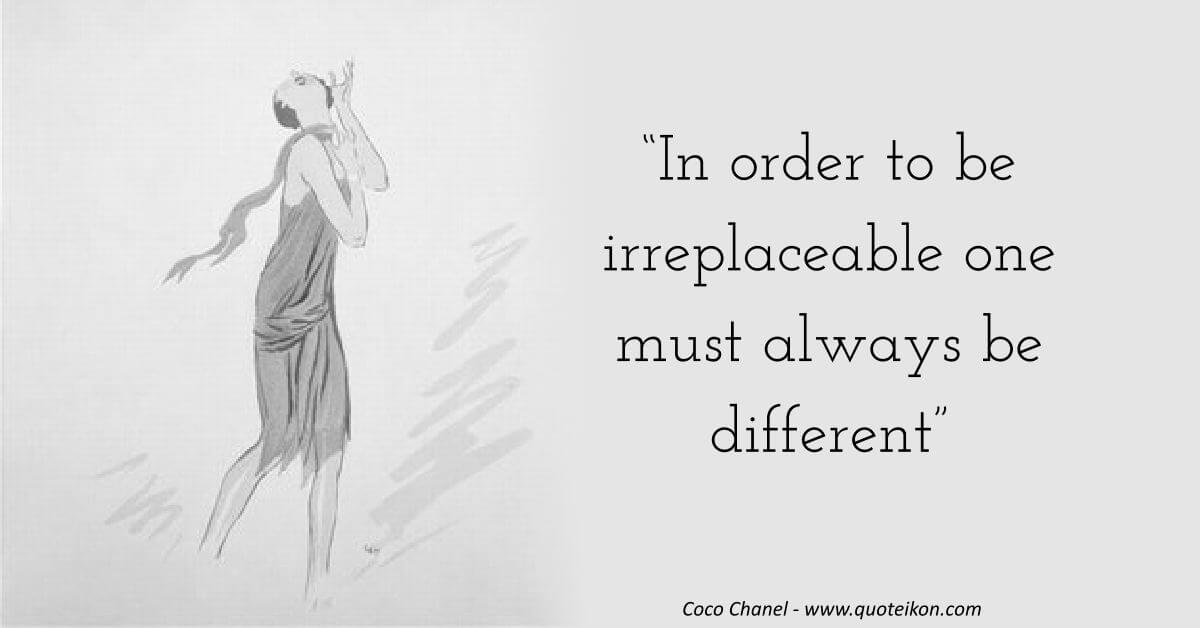 Coco Chanel image quote