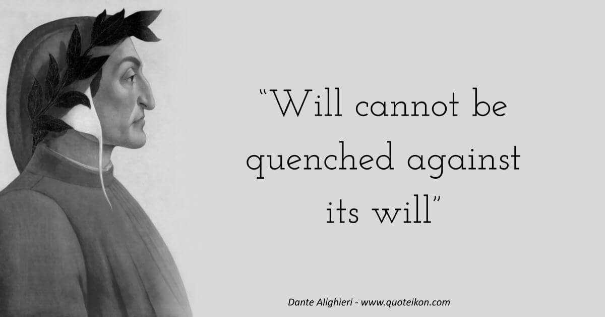 Dante Alighieri image quote