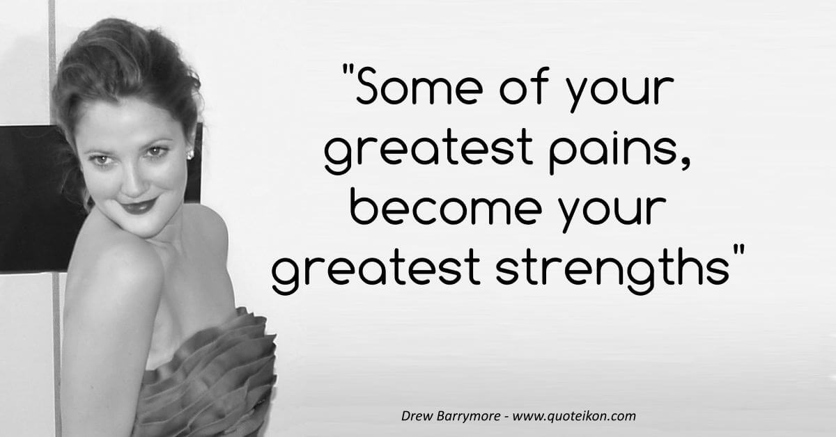 Drew Barrymore image quote