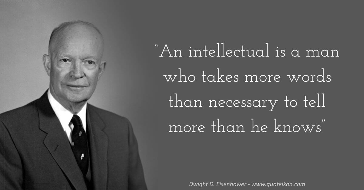 Dwight D. Eisenhower image quote