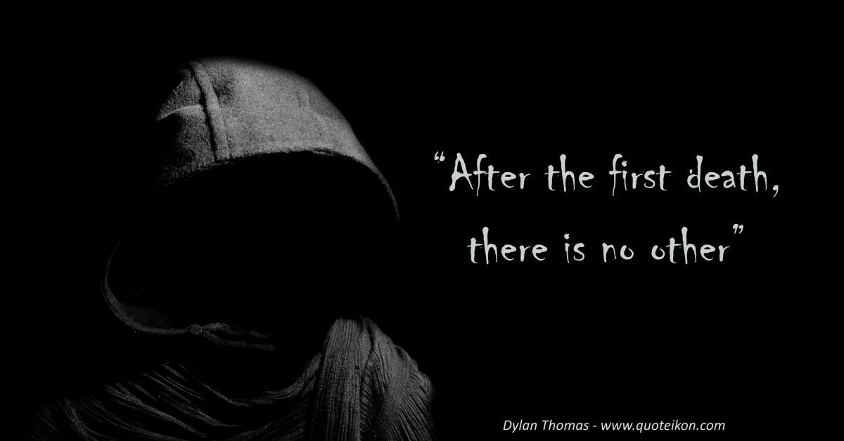 Dylan Thomas image quote