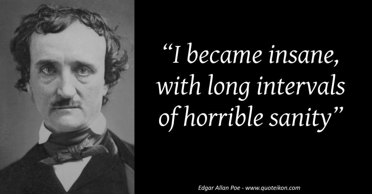 Edgar Allan Poe image quote