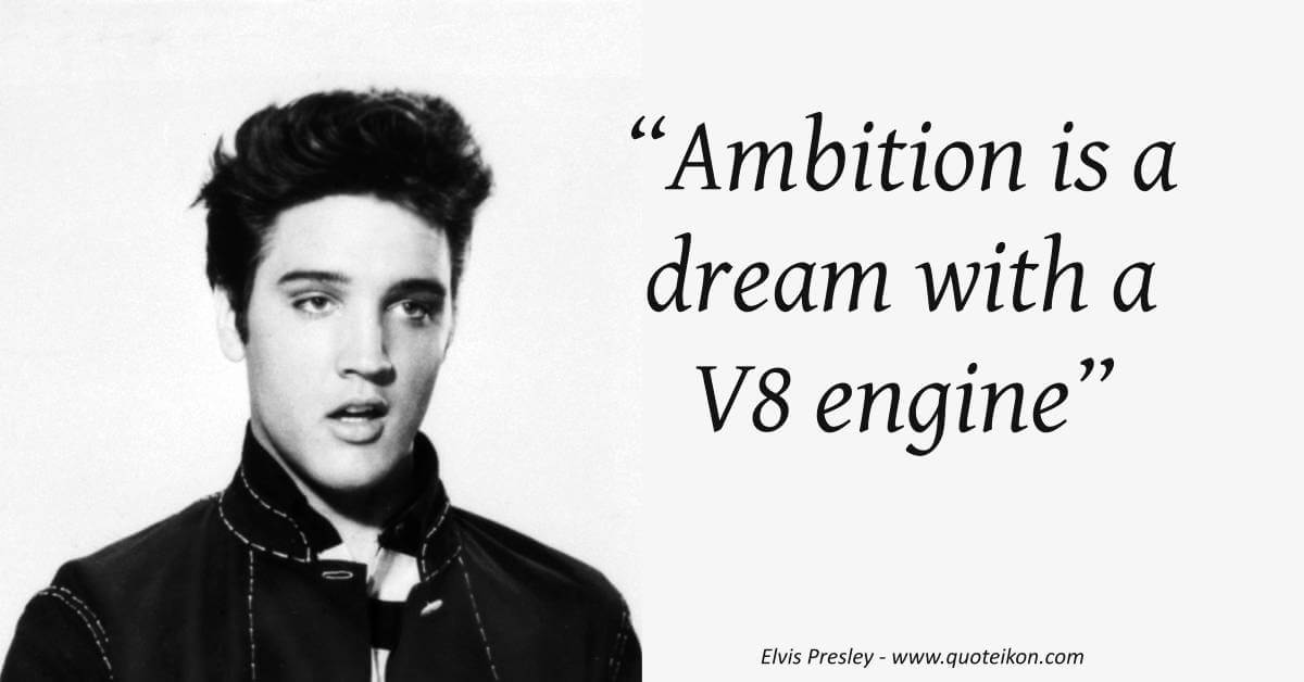 Elvis Presley image quote